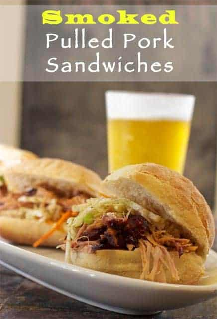Smoked Pulled Pork Sandwiches