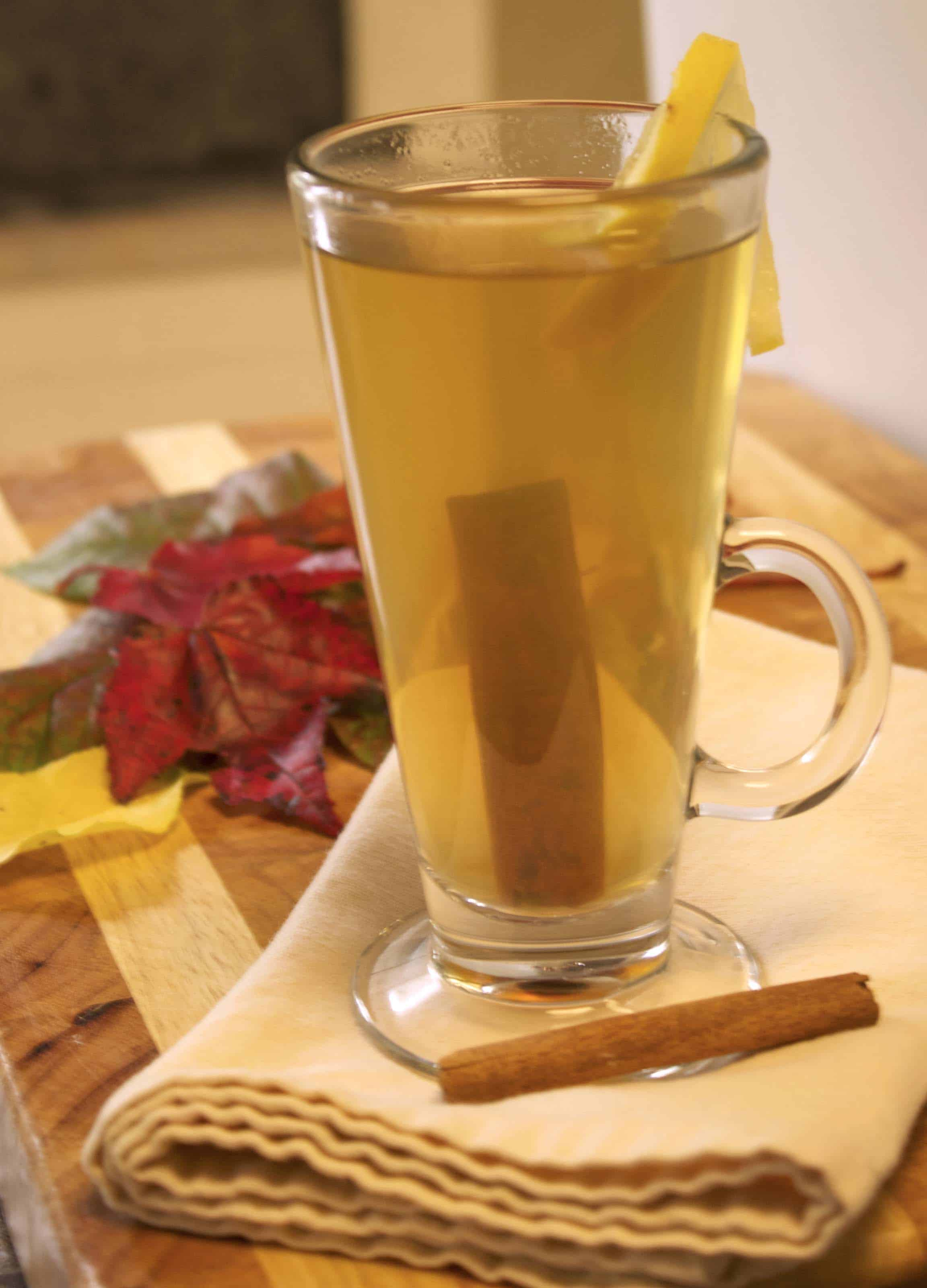 So instead of wine for my birthday, I made a Cognac Hot Toddy in honor ...