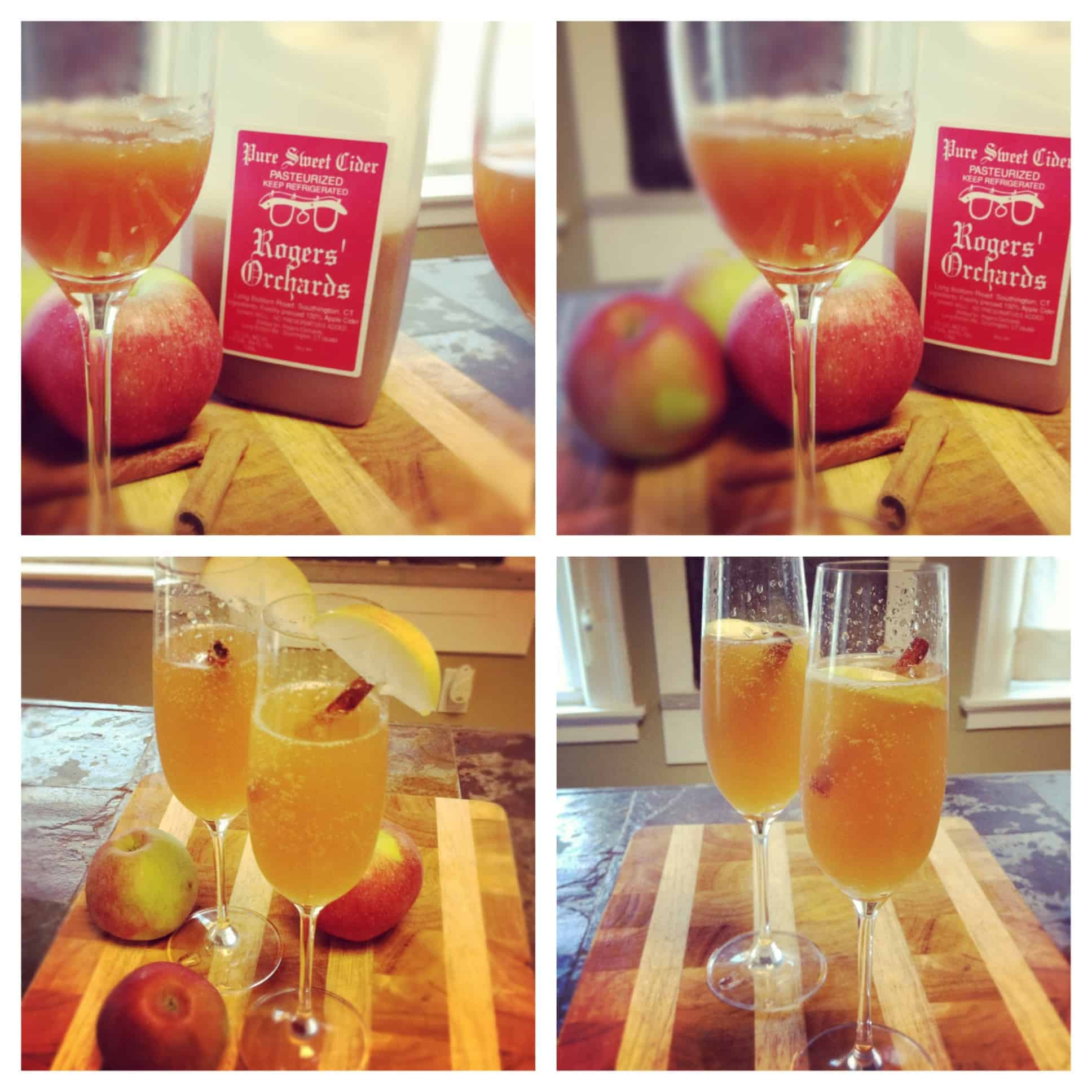 Apple Cider Mimosas and Pumpkin Pancakes – Expressing gratitude through wine and food