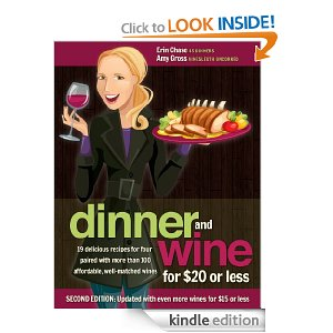Dinner and Wine for $20 or Less (ebook), FREE on Amazon today and tomorrow