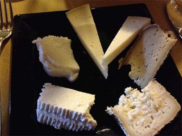 Azienda Agricola Borg da Ocjs - Cheese sample plate