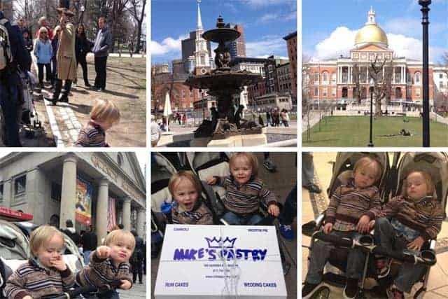 Boston photo collage
