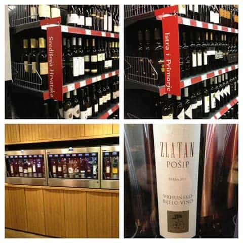 Dobra Vina Wine Shop Zagreb Croatia