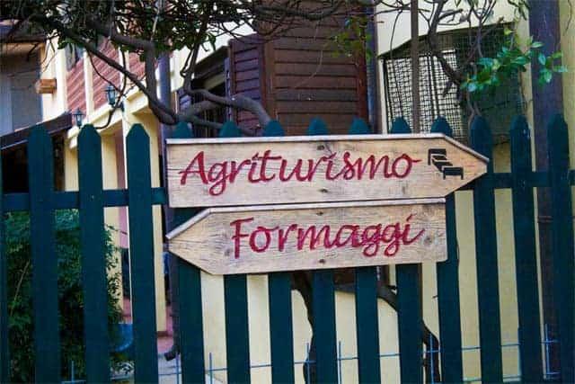 Friuli, Agriturismos