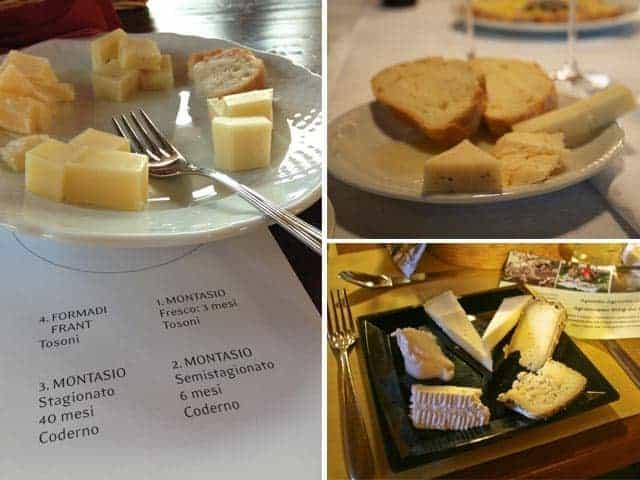 Friuli, The Montasio Cheese