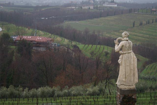Friuli, view from Rosazzo Abbey
