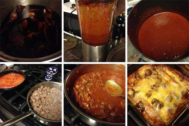 Homemade Red Chile Sauce for Enchiladas