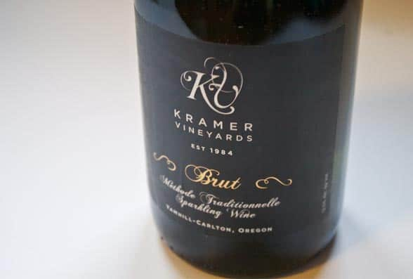 Kramer Vineyards 2010 Brut Sparkling Wine