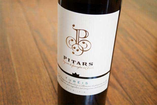 Pitars Tureis White Wine from Friuli Italy
