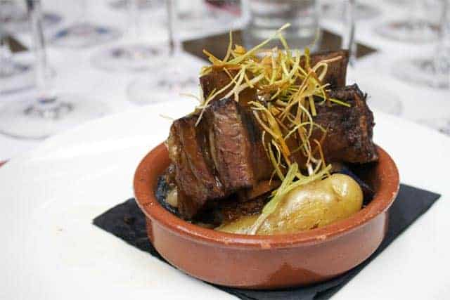 Snooth PVA Ribera del Duero braised short ribs