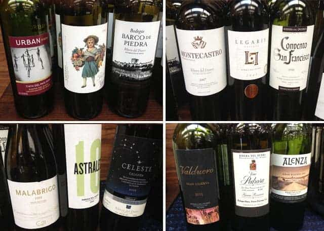 Wines of Ribera del Duero Snooth PVA tasting