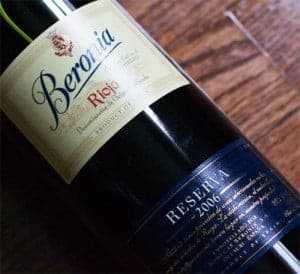 2006 Bodegas Beronia Rioja Reserva