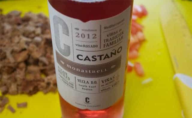 2012 Bodegas Castano Monastrell Rosado