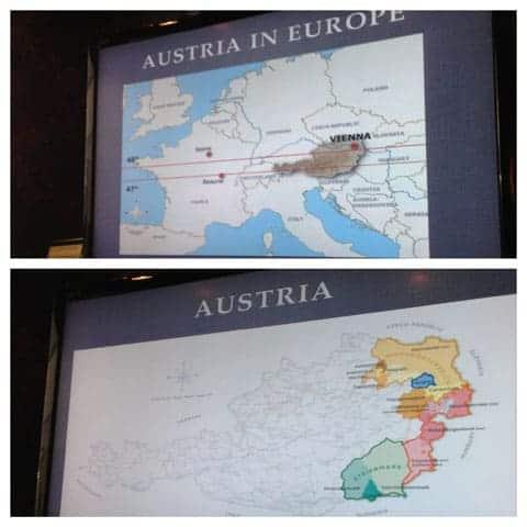 Austria Wine Tasting Maps