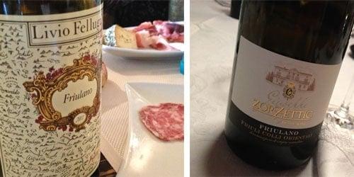Friulano bottle shots