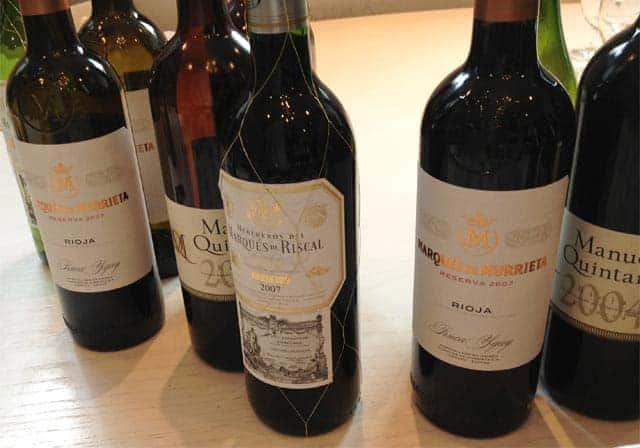 Snooth PVA Aged Rioja Tasting