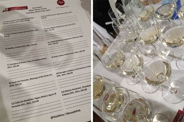 #Snooth PVA White Wines of Italy Tasting