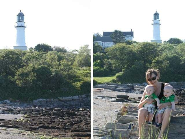 Lighthouse photo opp