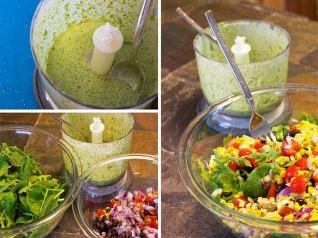 SW Salad my version