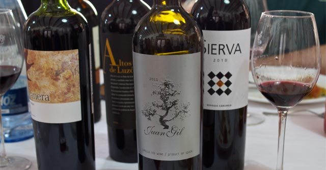 Monastrell examples from Murcia