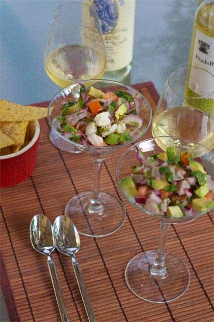 Recent Articles — Shrimp Ceviche and Wine Pairing on VineSleuth