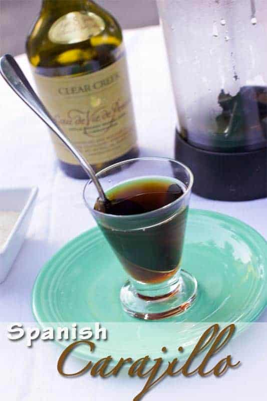 Carajillo - Spanish Coffee Drink