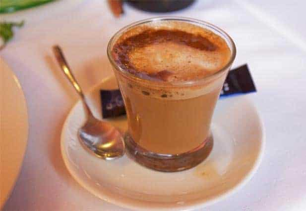 Cortado - Spanish coffee drink
