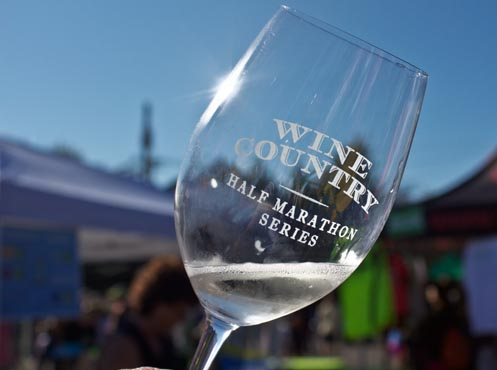 Oregon Wine Country Half Marathon Tasting Glass