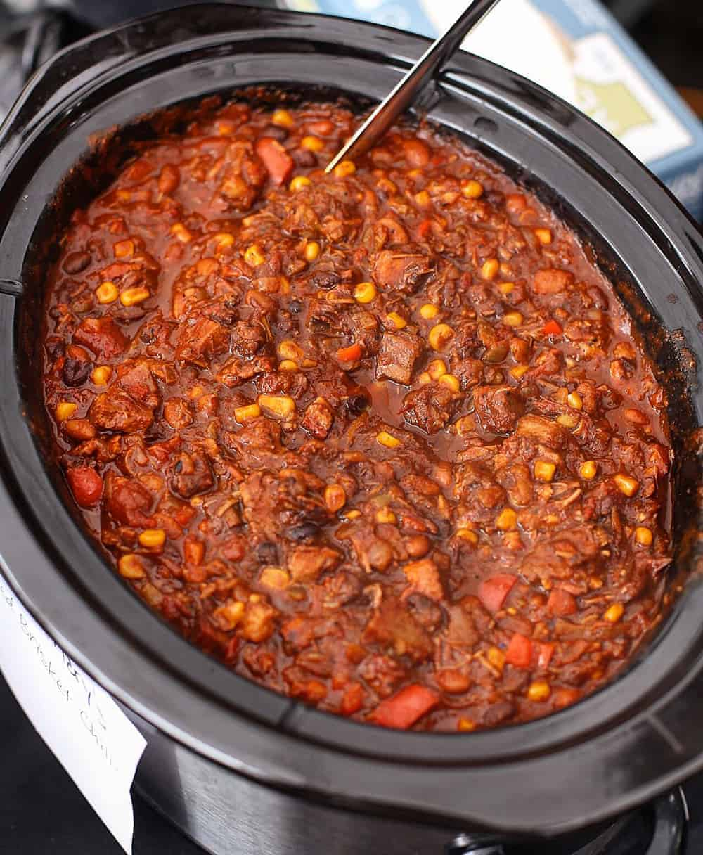 Award-Winning Smoked Beef Brisket Chili. The most incredible use for leftover brisket.