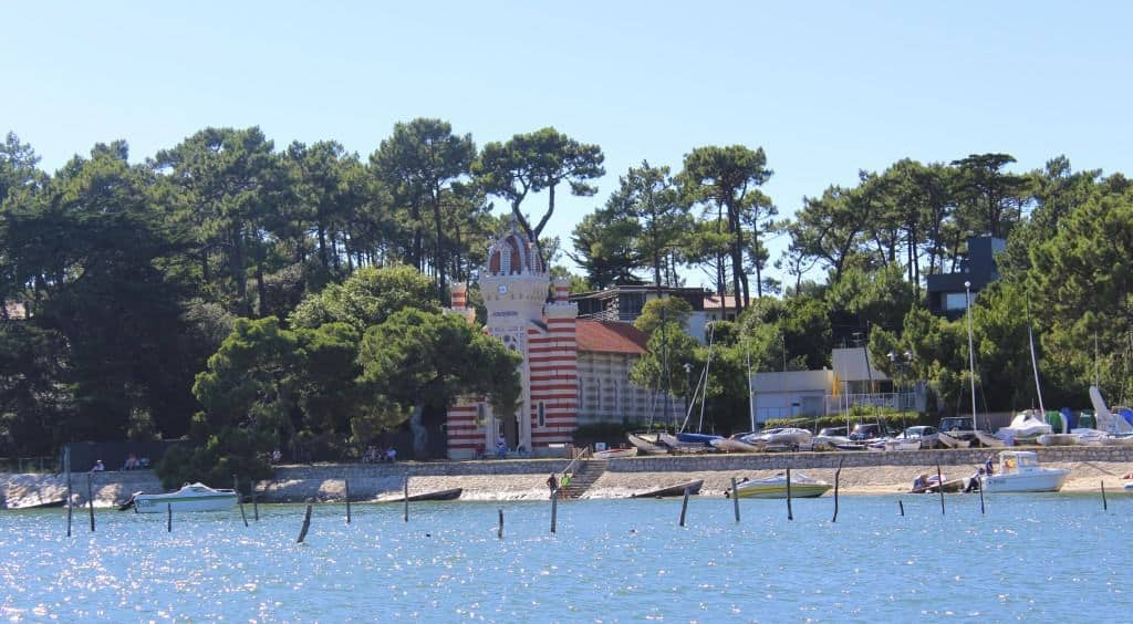 Boat ride along the Cap Ferret Peninsula