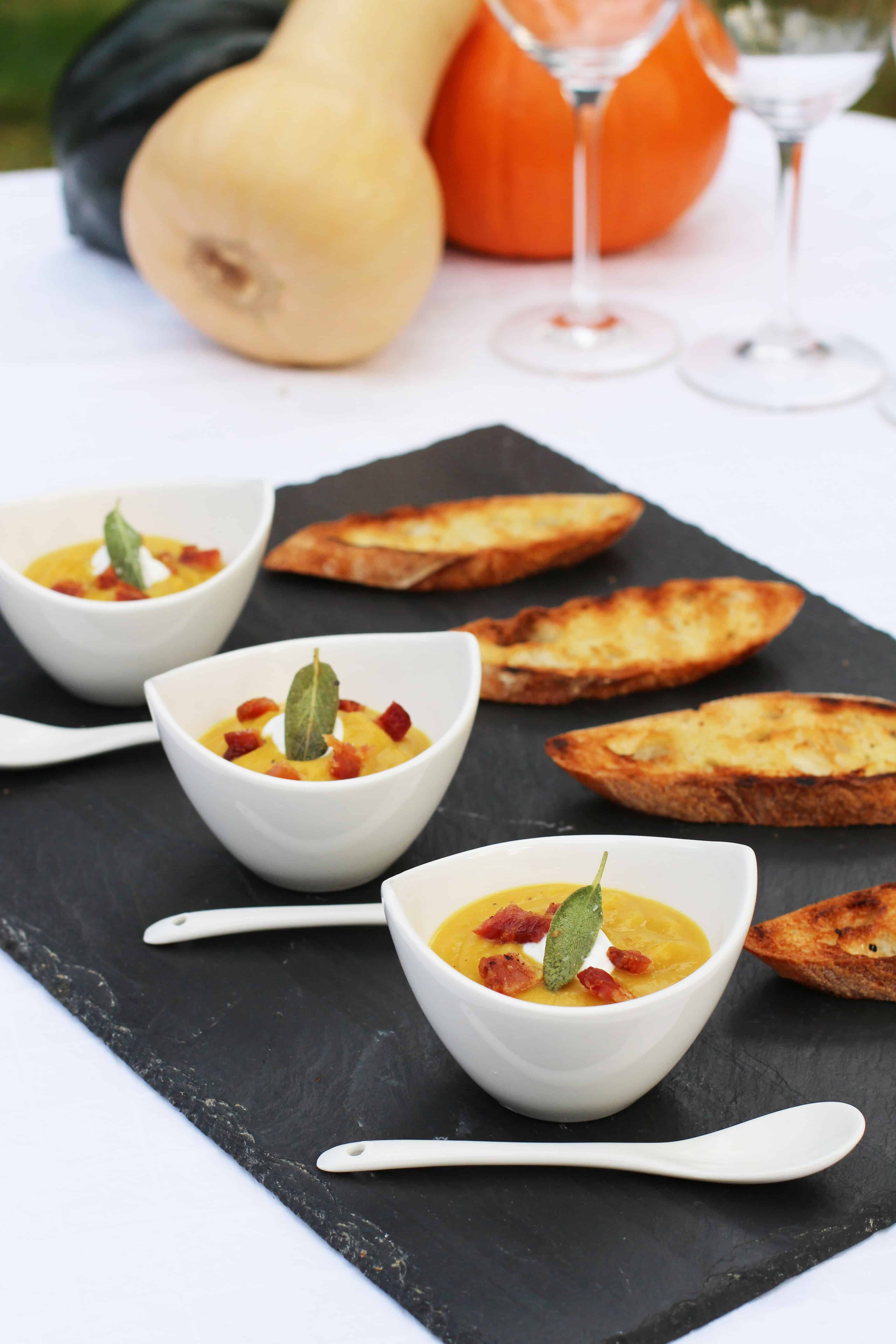 Recent Articles — Butternut Squash Soup and Wine Pairing on VineSleuth Uncorked