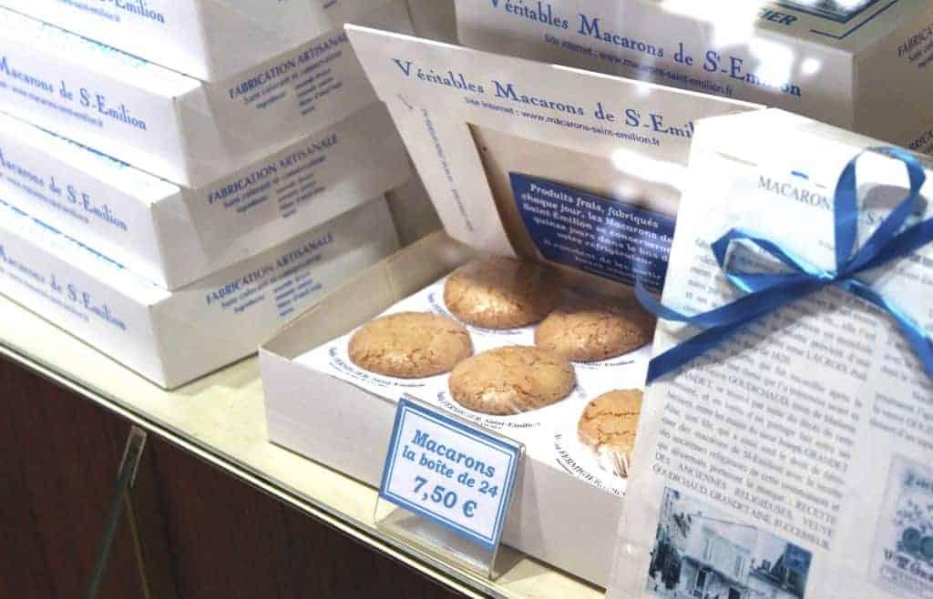 Macarons in Saint Emilion