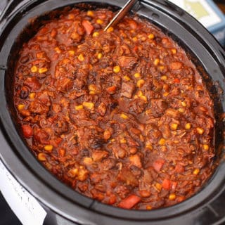 Smoked Beef Brisket Chili made with Leftover Brisket