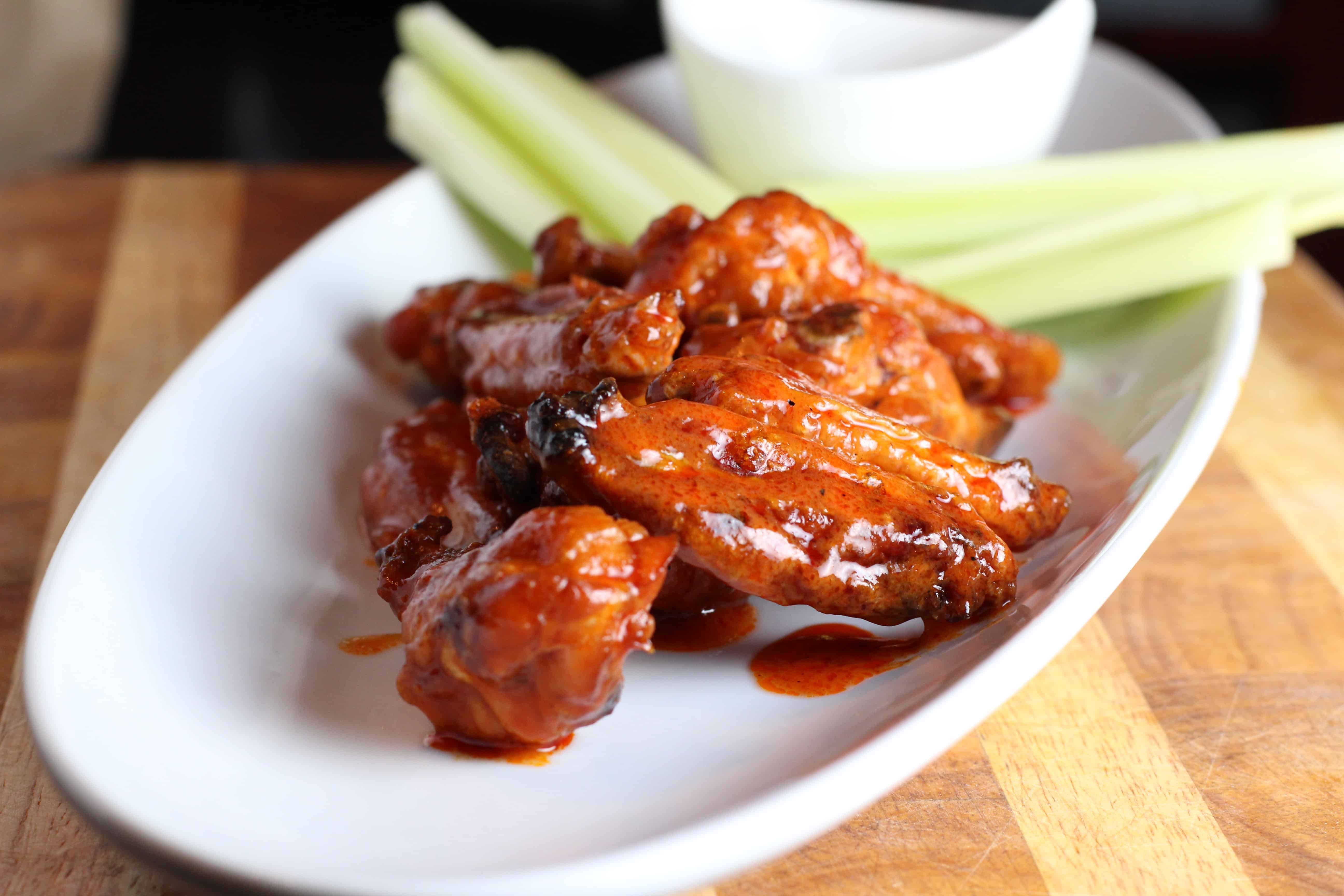 Well you need my barbecue sauce recipe to make the smoked buffalo chicken wings.. er.. drumsticks the same way that I did but believe me when I say that it is so worth it. The recipe that I .
