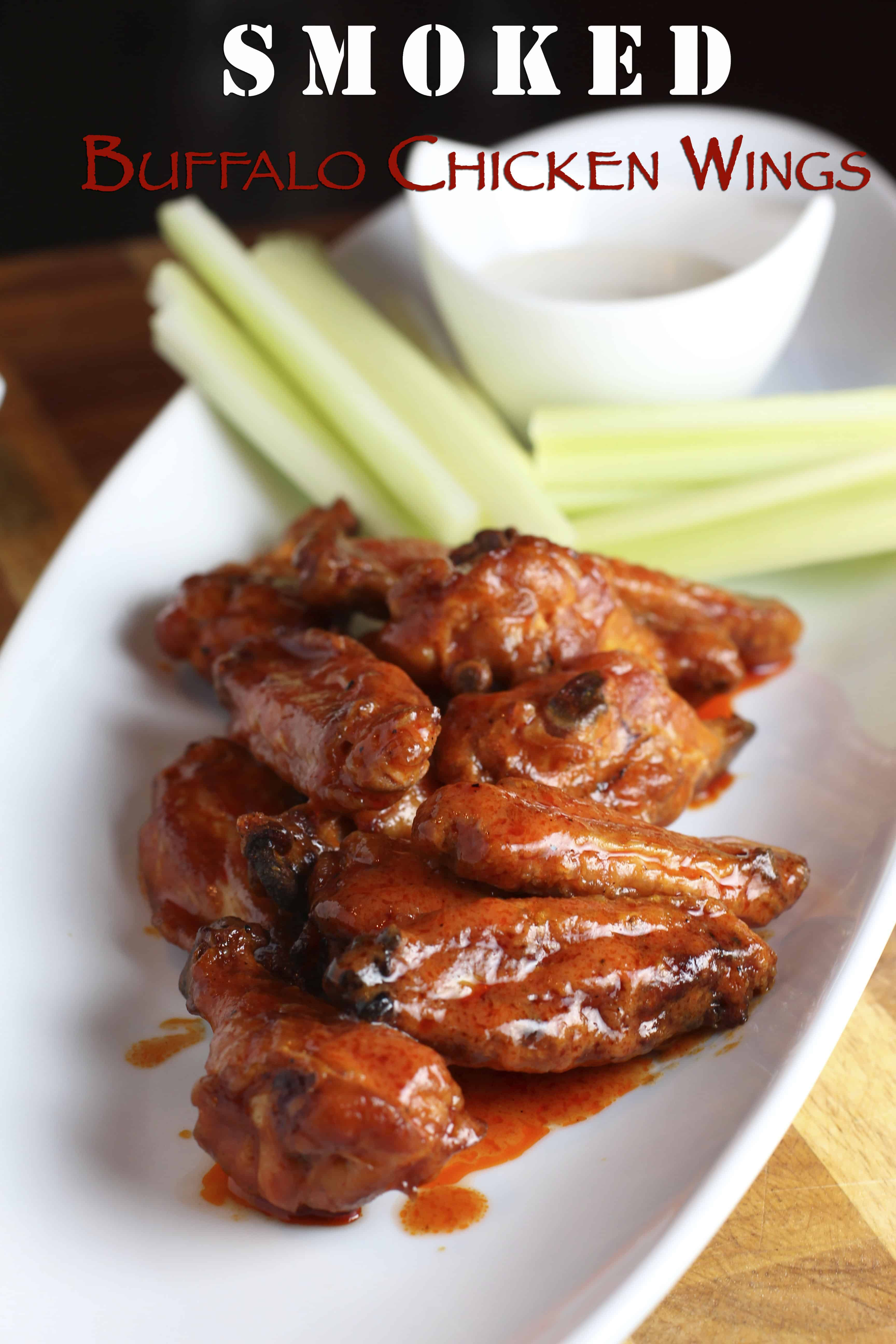 Smoked Buffalo Chicken Wings are the ultimate Super Bowl Recipe