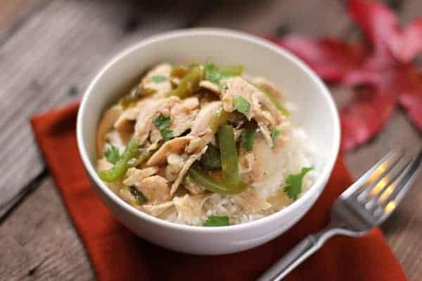 Green Chili Turkey. An incredible use for leftover Thanksgiving turkey.