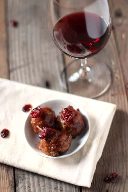 Cranberry-Red-Wine-Meatballs