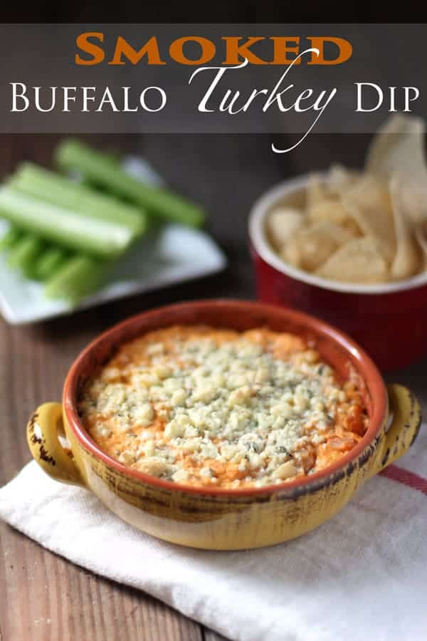 Smoked Buffalo Turkey Dip