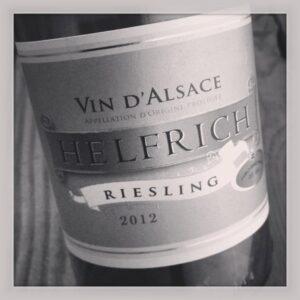 2012 Helfrich Riesling