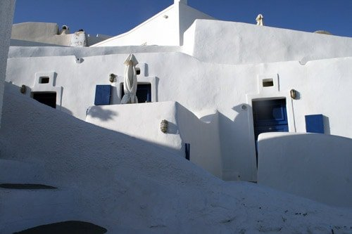Views-from-Nikos-Villas,-Santorini-Greece