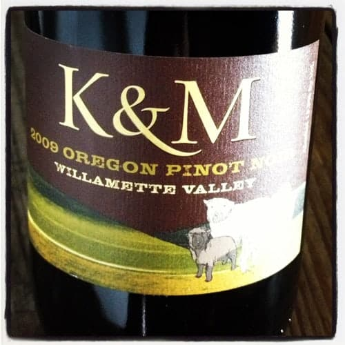 2009 K & M Alchemy Vineyard Pinot Noir