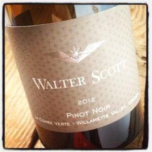 2012 Walter Scott Pinot Noir, La Combe Verte