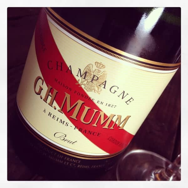 G.H. Mumm Cordon Rouge Brut Champagne