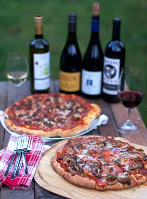 Announcements, recent articles, and what wine to pair with pizza