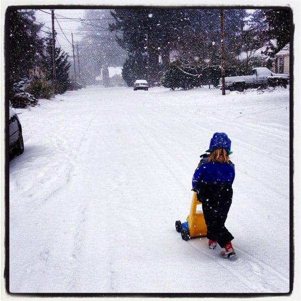 What to eat during the Portland Snowpocalypse. Brisket Nachos!!!