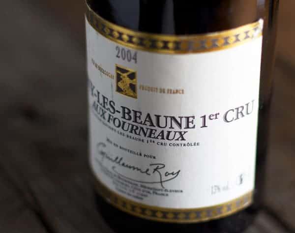 2004-Guillaume-Roy-Aux-Fourneaux-Savigny-lès-Beaune-Premier-Cru