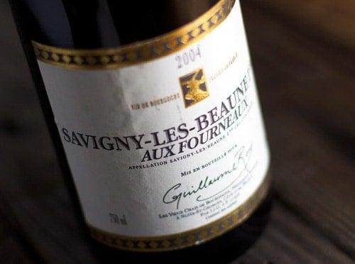 2004-Guillaume Roy, Aux Fourneaux, Savigny-les-Beaune Premier Cru
