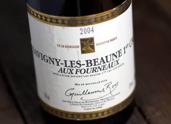 2004 Guillaume Roy, Aux Fourneaux, Savigny-les-Beaune Premier Cru