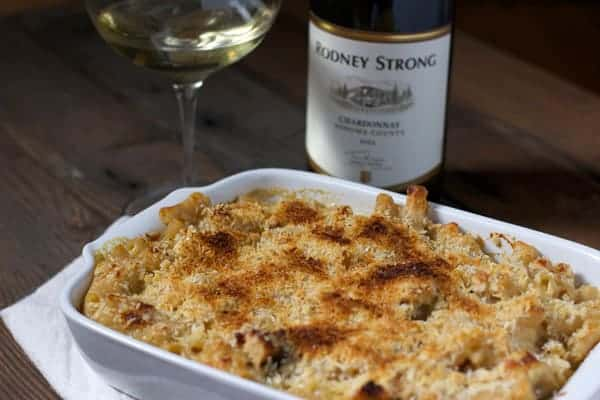 Creamy-Macaroni-and-Cheese-with-Smoked-Bacon-and-Wine-Pairing
