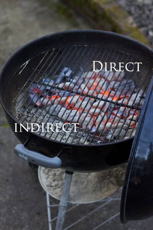 Direct vs Indirect heat when grilling